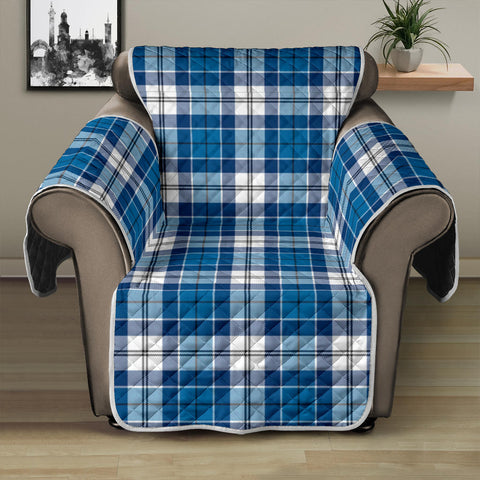 Image of Strathclyde District Tartan Recliner Sofa Protector A9 copy