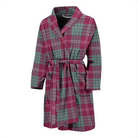 Crawford Ancient Tartan Men's Bath Robe