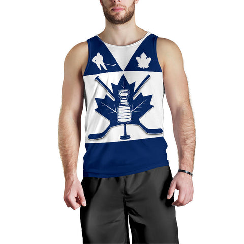 Image of Canada Hockey Maple Leaf Champion Men Tank Top | Clothing | Toronto Maple Leafs