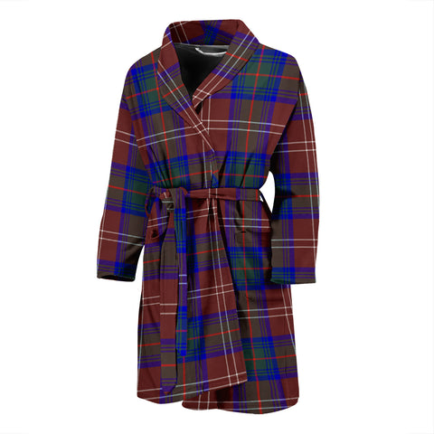 Chisholm Hunting Modern Tartan Men's Bath Robe