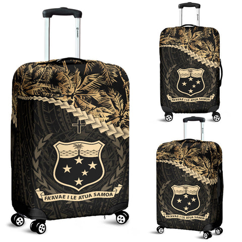 Samoa Luggage Covers Golden Coconut A02