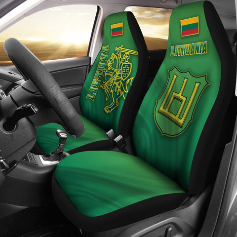 Lithuania Vytis Columns of Gediminas Car Seat Covers K8