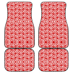 Maori Car Floor Mat 4 Pieces 27b K3