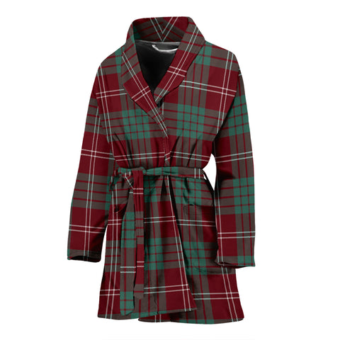 Crawford Modern Tartan Women's Bath Robe