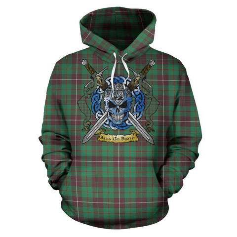 MacKinnon Hunting Ancient Tartan Hoodie Celtic Scottish Warrior A79 | Over 500 Tartans | Clothing | Apaprel