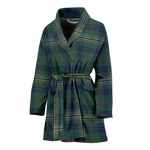 Kennedy Modern Tartan Women's Bath Robe