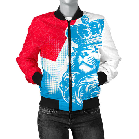 Image of Lion Luxembourg Women Bomber Jacket Bn10