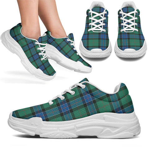 Image of Sinclair Hunting Ancient Tartan Chunky Sneakers - BN