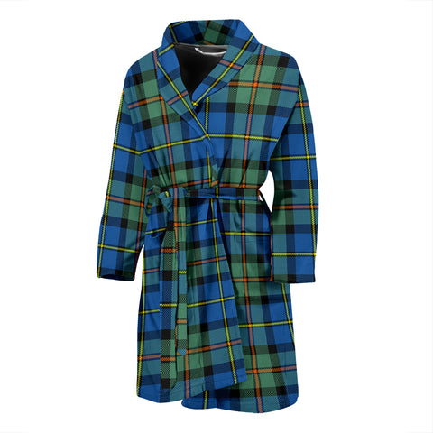 Image of MacLeod Of Harris Ancient Tartan Men's Bath Robe