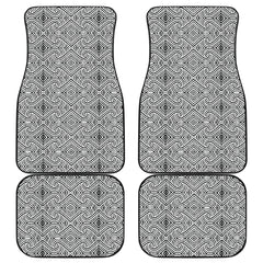 Maori Car Floor Mat 4 Pieces 28 K3