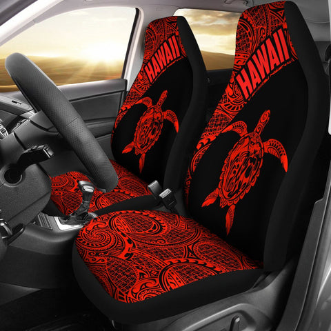 Hawaii Tribal Turtle Mermaid Car Seat Covers TH76