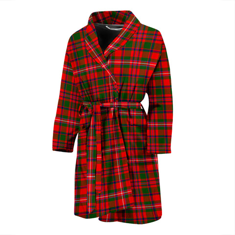 MacKinnon Modern Tartan Men's Bath Robe
