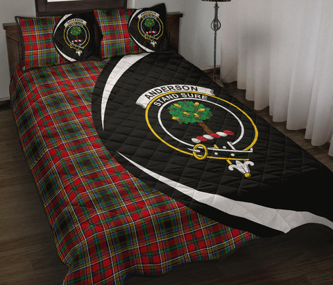 Anderson of Arbrake Tartan Quilt Bed Set Circle