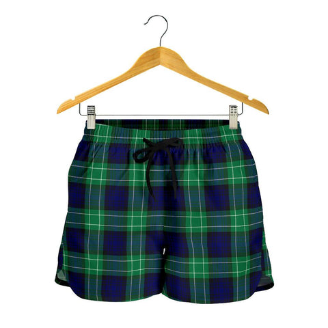 Image of Abercrombie Tartan Shorts For Women