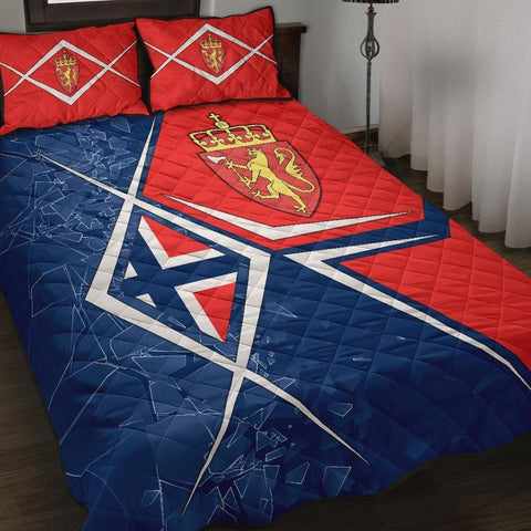 Norway Quilt Bed Set - Norway Legend