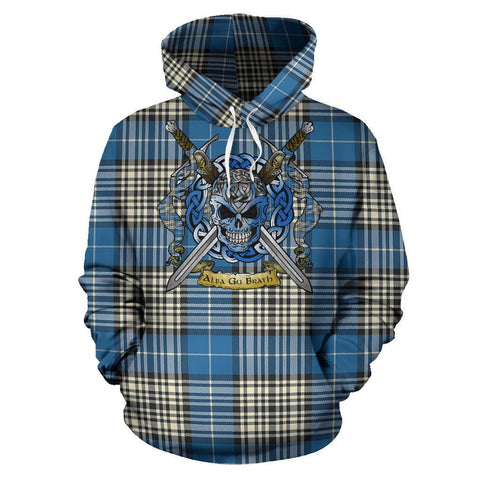 Image of Napier Ancient Tartan Hoodie Celtic Scottish Warrior A79 | Over 500 Tartans | Clothing | Apaprel