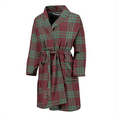 MacGregor Hunting Ancient Tartan Men's Bath Robe