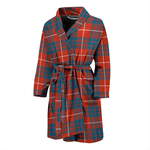 Hamilton Ancient Tartan Men's Bath Robe