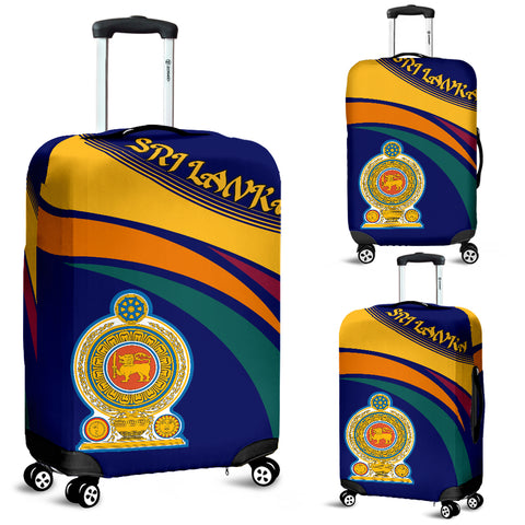 Sri Lanka Lion Coat Of Arms Luggage Covers