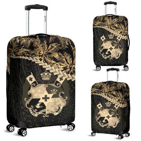 Tonga Luggage Covers Golden Coconut A02