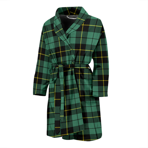 Wallace Hunting Ancient Tartan Men's Bath Robe