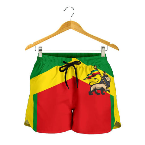 Image of Ethiopia Shorts Women Rising A10 | 1sttheworld.com