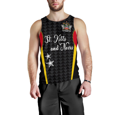 Saint Kitts and Nevis Men's Tank Top Exclusive Edition K4