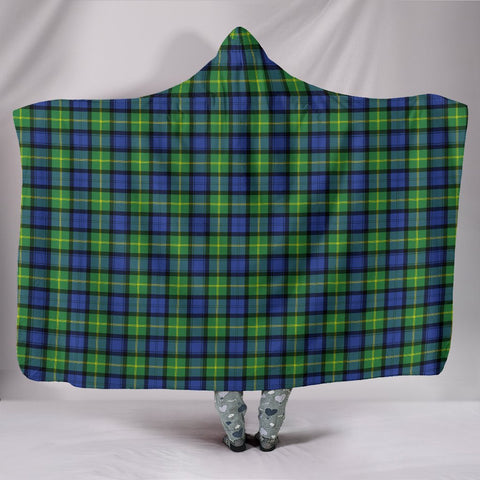 Gordon Old Ancient, hooded blanket, tartan hooded blanket, Scots Tartan, Merry Christmas, cyber Monday, xmas, snow hooded blanket, Scotland tartan, woven blanket
