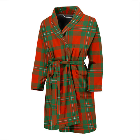 MacGregor Ancient Tartan Men's Bath Robe