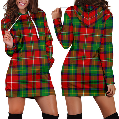 Boyd Modern Tartan Hoodie Dress HJ4 |Women's Clothing| 1sttheworld