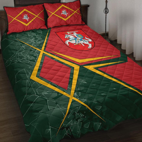 Lithuania Quilt Bed Set - Lithuania Legend