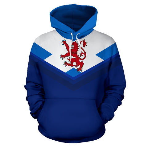 Image of Scotland Lion Flag Hoodie