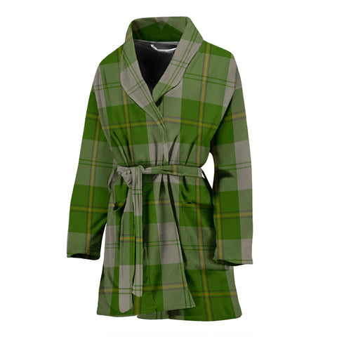 Cunningham Dress Green Dancers Tartan Women's Bath Robe