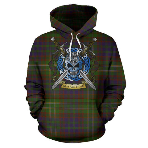Cunningham Hunting Modern Tartan Hoodie Celtic Scottish Warrior A79 | Over 500 Tartans | Clothing | Apaprel