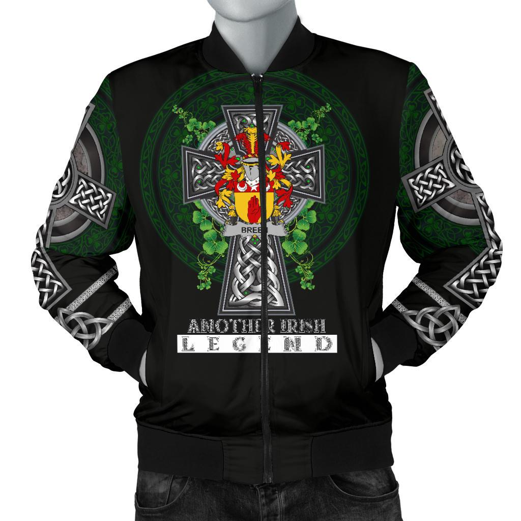 Breen or O'Breen Ireland Bomber Jacket Irish Legend | Over 1400 Crests | Clothing | Apparel
