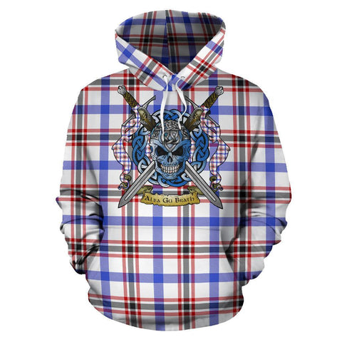 Boswell Modern Tartan Hoodie Celtic Scottish Warrior A79 | Over 500 Tartans | Clothing | Apaprel
