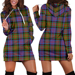 Carnegie Ancient Tartan Hoodie Dress HJ4
