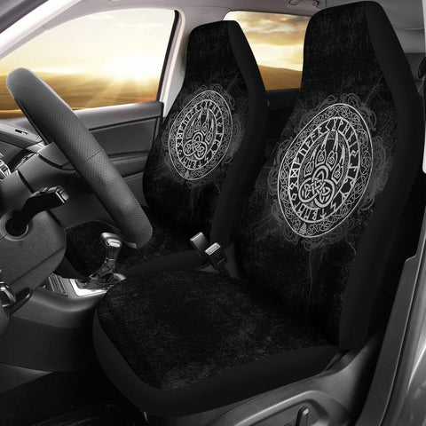 Viking Wolf Car Seat Covers A31
