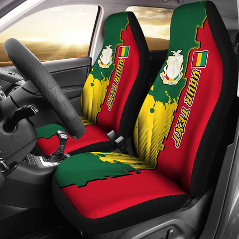 Guinea Personalised Car Seat Covers - Independence Day