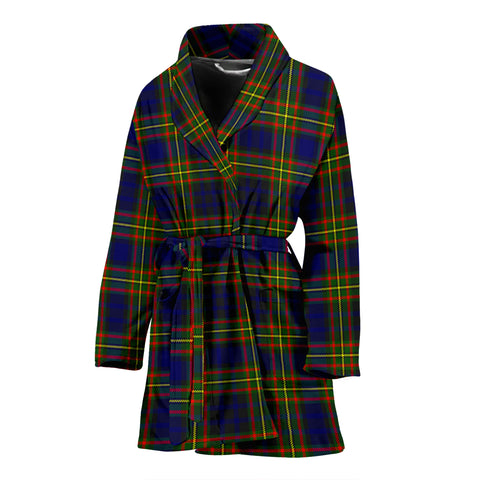 Clelland Modern Tartan Women's Bath Robe