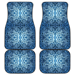 Maori Car Floor Mat 4 Pieces 31 K3