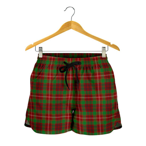 Image of Ainslie Tartan Shorts For Women