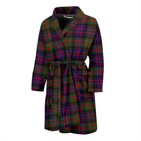 MacDonald Modern Tartan Men's Bath Robe - BN04