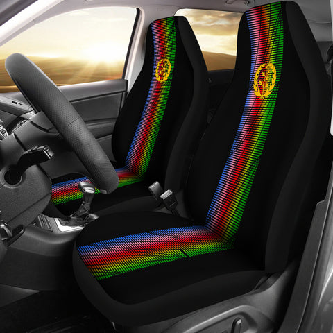 Eritrea Car Seat Covers - Eritrea United (Set of Two) A7