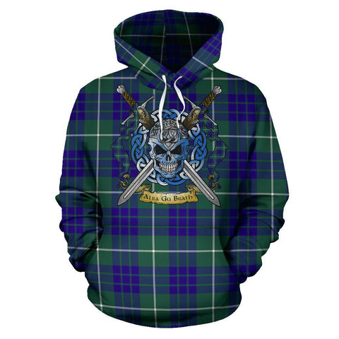 Image of Hamilton Hunting Modern Tartan Hoodie Celtic Scottish Warrior A79 | Over 500 Tartans | Clothing | Apaprel