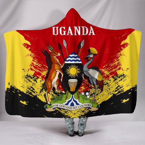 Image of Uganda Special Hooded Blanket A7