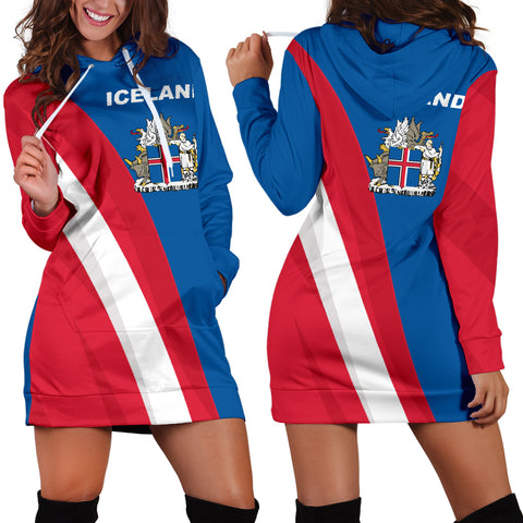 Iceland Hoodie Dress - Special Version K5 |Women's Clothing| 1sttheworld