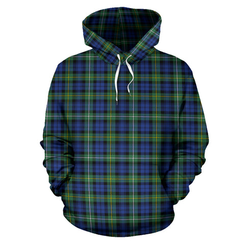 Image of Campbell Argyll Ancient Tartan Hoodie HJ4