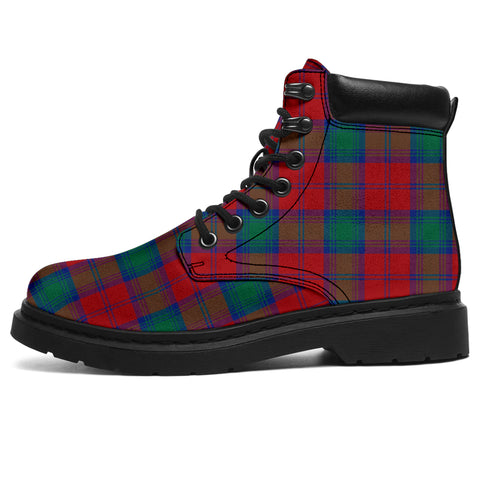 Image of Lindsay Modern  Tartan All-Season Boots