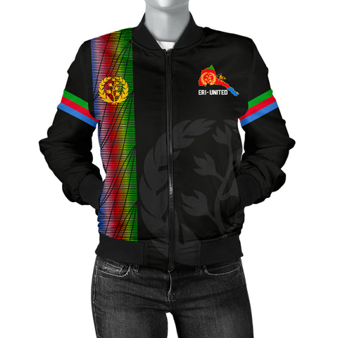 Image of Eritrea Women's Bomber Jacket - Eritrea United A7
